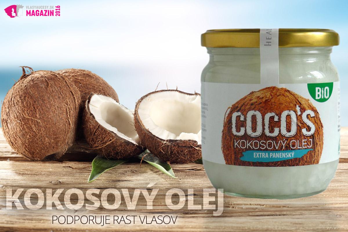 Kvalitný kokosový olej podporuje rast vlasov aj kvalitu vlasovej pokožky.