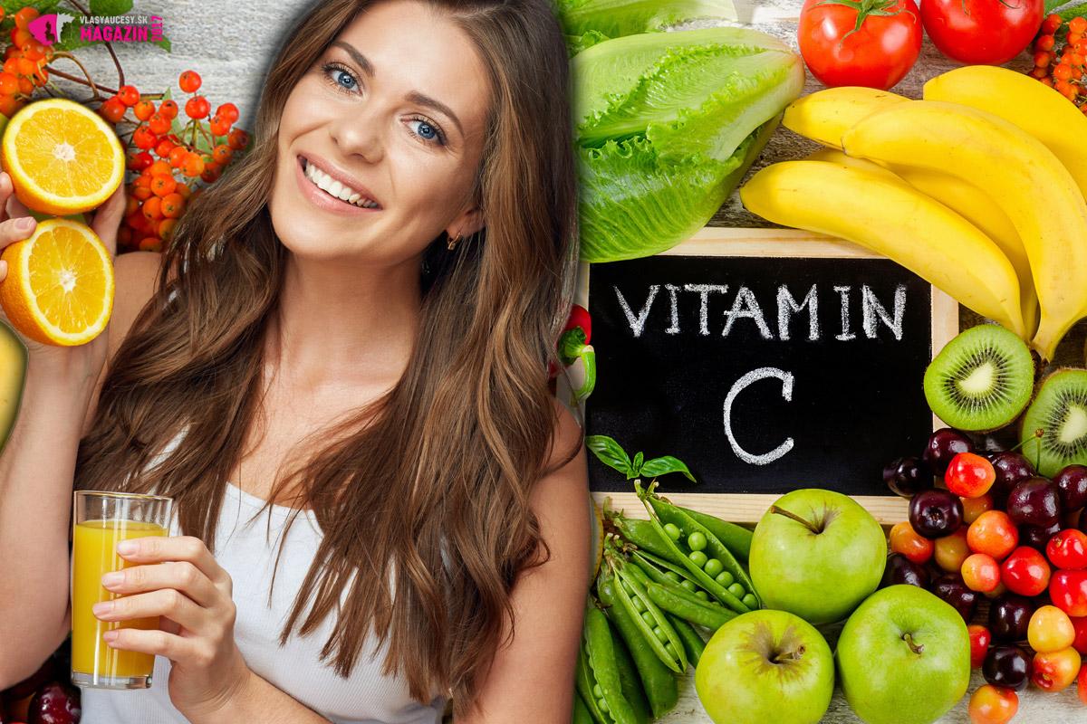 C-čko je silný antioxidant a neodmysliteľne dôležitým je aj pre zdravie a krásu našich vlasov. Nezabudnite ho dopĺňať najmä v podobe na vitamín C bohatej stravy v podobe zeleniny a ovocia.