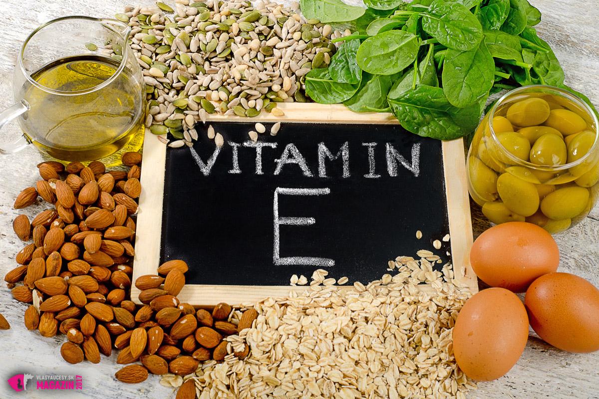 Vitamín E bude chutiť nielen vašim vlasom, ale aj vám. Najmä vo svojej prirodzenej forme, teda v potravinách, ktoré ho obsahujú vo zvýšenom množstve.
