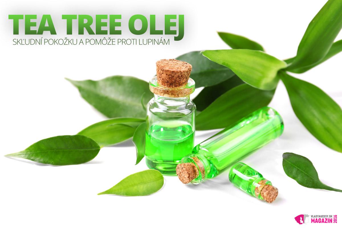 Tea tree oil je základný olej, ktorý má silné antimikrobiálne vlastnosti, vďaka ktorým je populárnym liekom aj na liečbu problémov pokožky hlavy.