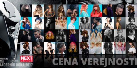 Aj vy môžete zvoliť svojho Kaderníka roka! Zapojte sa do hlasovania Consumer awards – čiže Cena verejnosti 2017 Czech&Slovak Hairdressing Awards!
