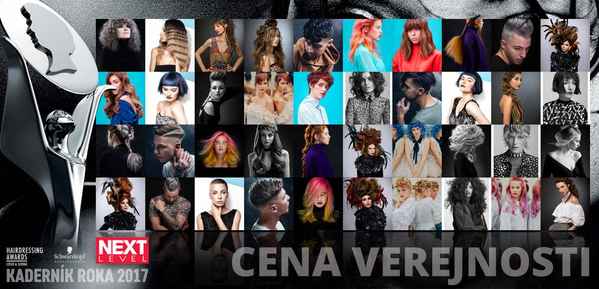 Hlasovať o Cenu verejnosti Czech and Slovak Hairdressing Awards 2017 môžete až do 1. októbra 2017 (vrátane).