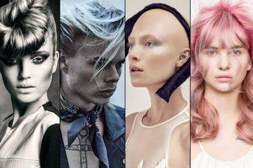 Pozrite sa na nominácie s kolekciami účesov v kategórii Tím roka 2017 v Czech and Slovak Hairdressing Awards 2017 / Kaderník roka 2017.