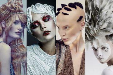 Pozrite sa na nominácie s kolekciami účesov v kategórii Avantgarda 2017 v Czech and Slovak Hairdressing Awards 2017 / Kaderník roka 2017.