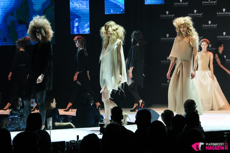 Show Mishy Čadkovej na galavečere Czech and Slovak Hairdressing Awards 2017.
