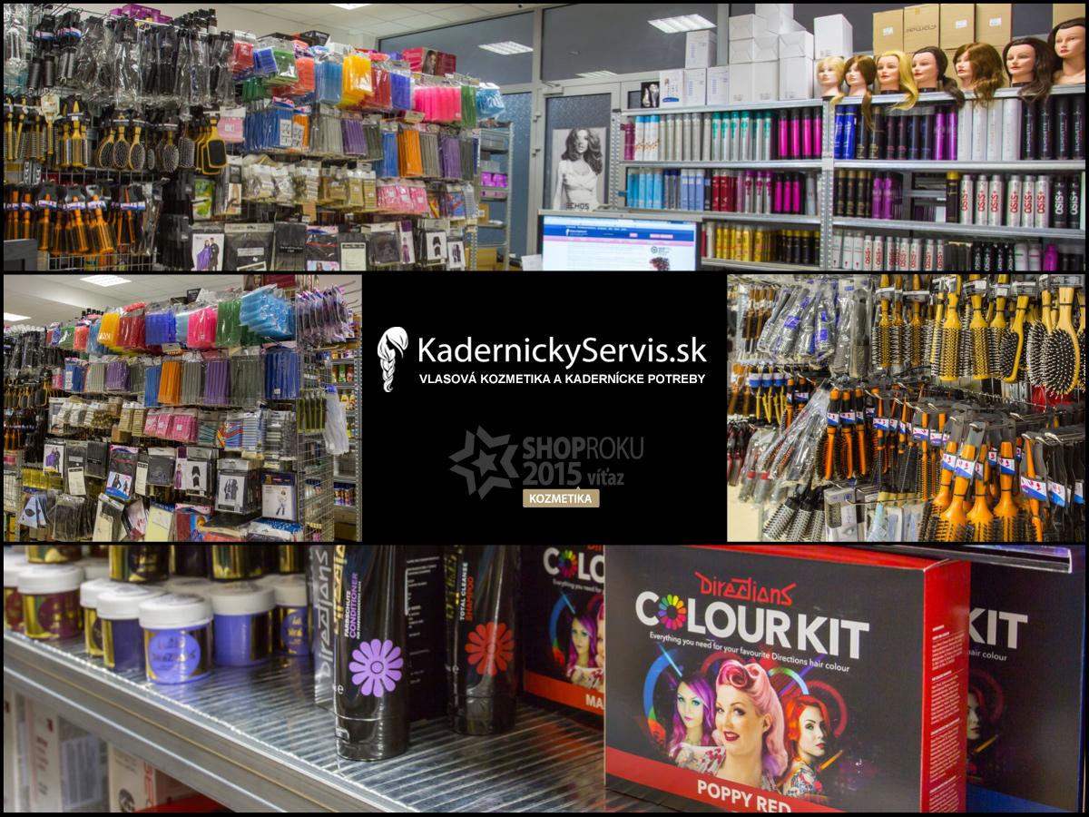 E-shop Kadernickyservis.sk garantom toho, že do ruky dostanete 100% originálne produkty, a to vždy od oficiálnych výrobcov či importérov.