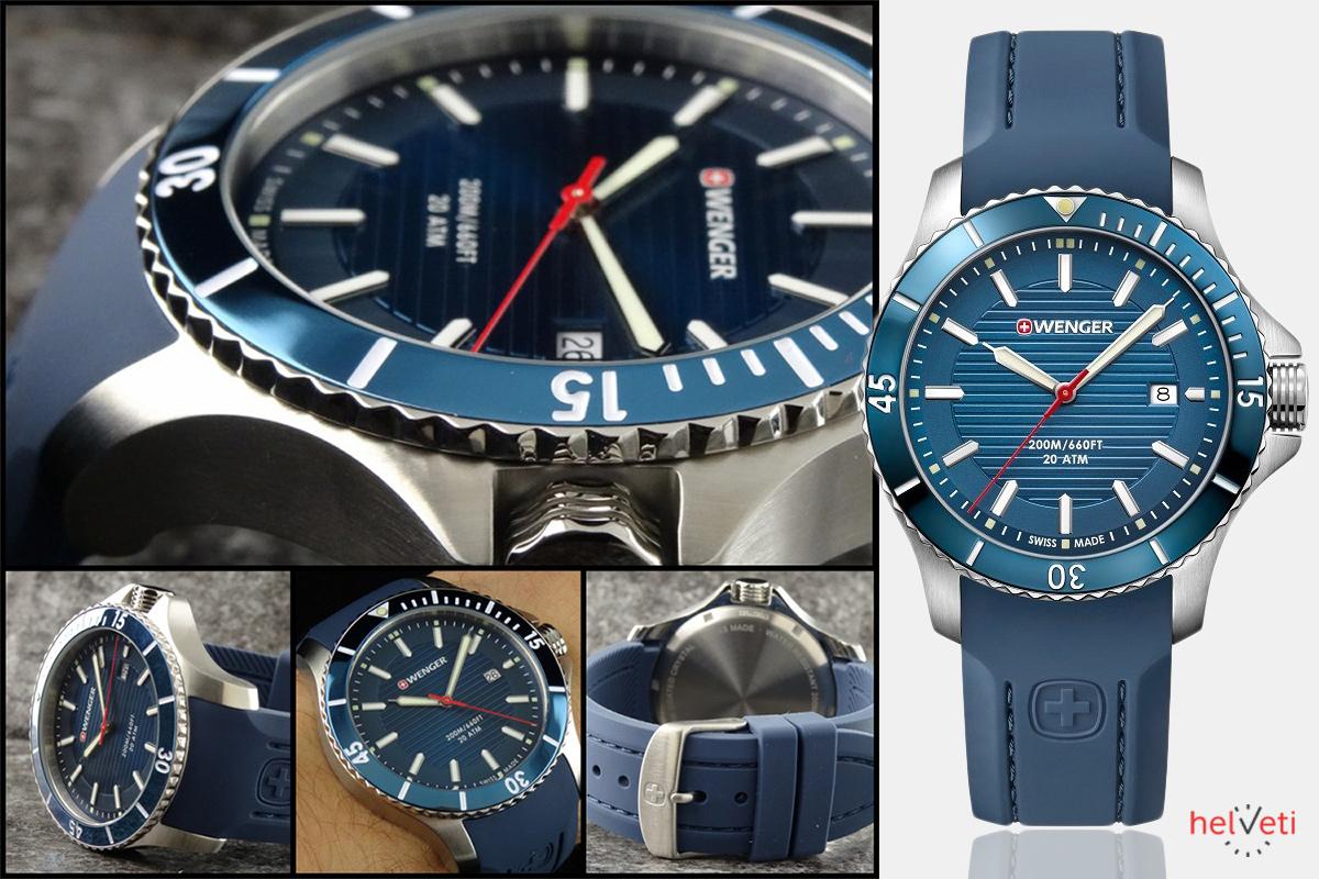 Hodinkový fanda a majiteľ obchodu a e-shopu s hodinkami Helveti vybral ako hodinky mesiaca november 2017 model Wenger Sea Force.
