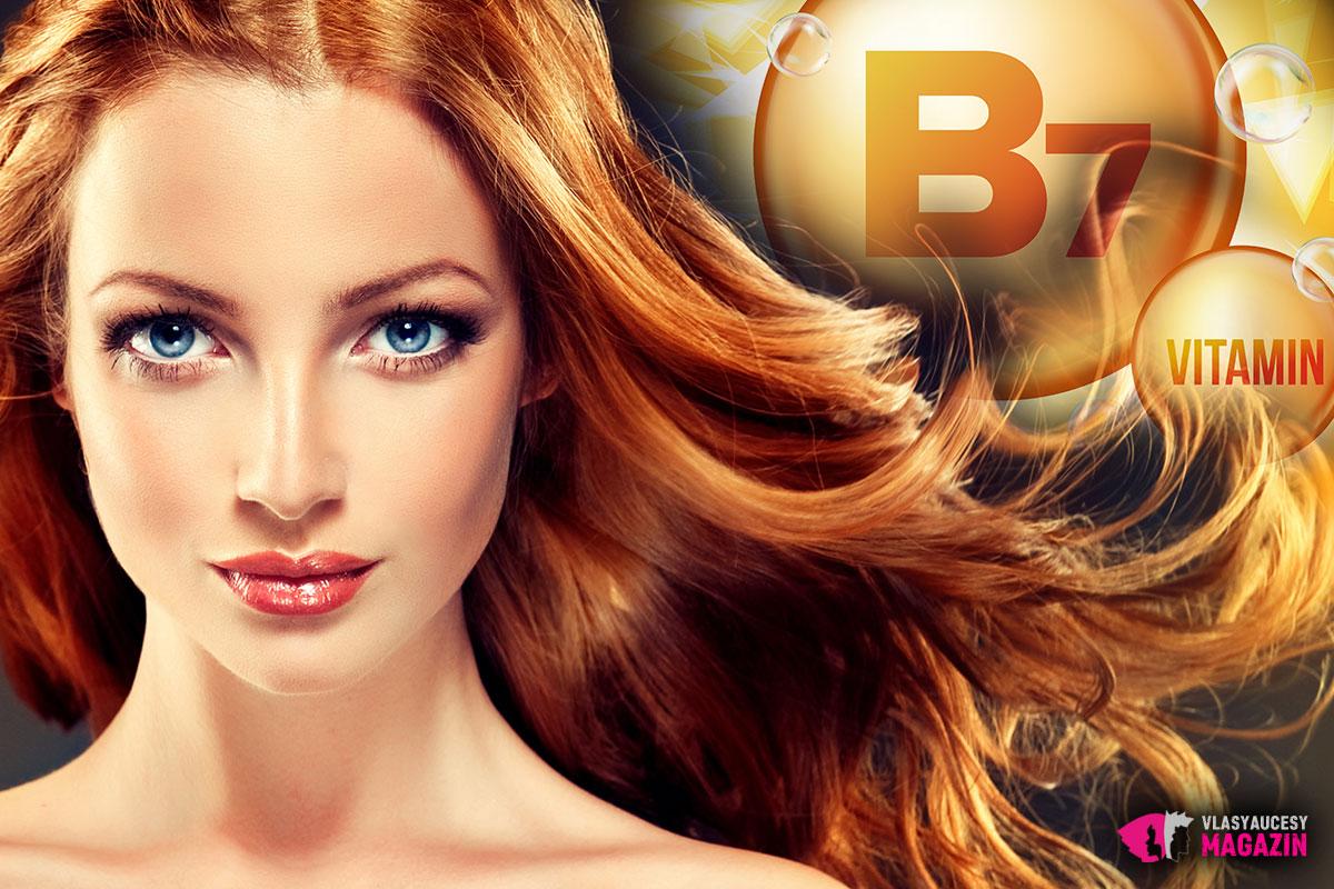 Nakŕmte svoje vlasy správnymi vitamínmi. Nezabudnite na vitamín B7.