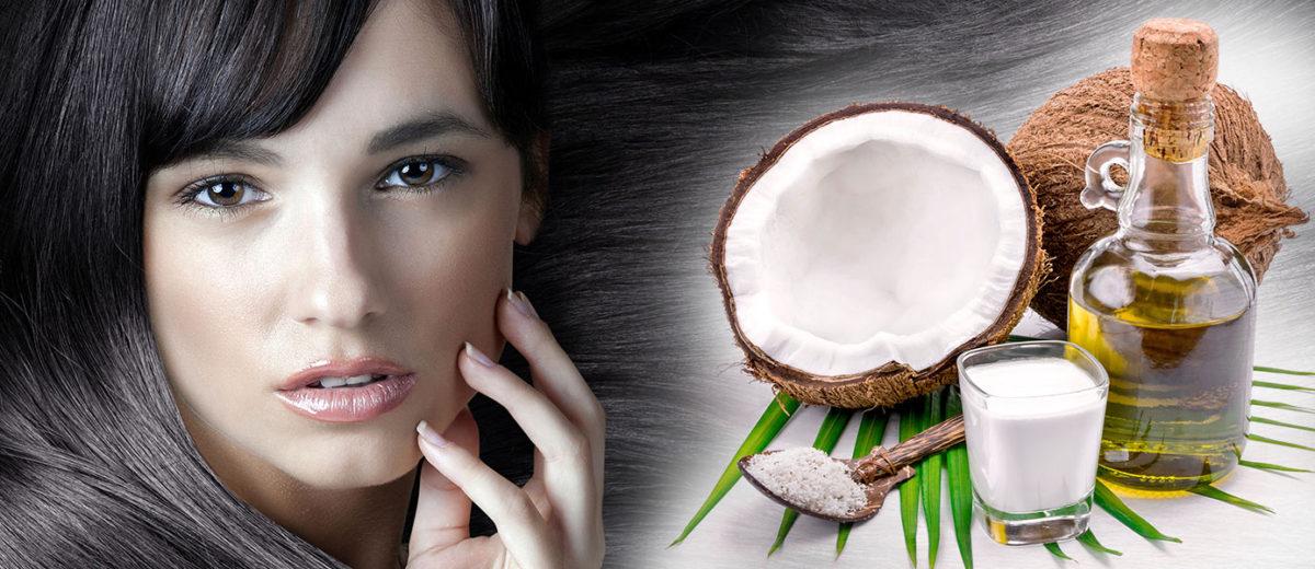 Kokosový olej je skvelou výživou pre vlasy a vlasovú pokožku. d171ee2e733