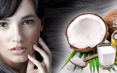 Kokosový olej je skvelou výživou pre vlasy a vlasovú pokožku.