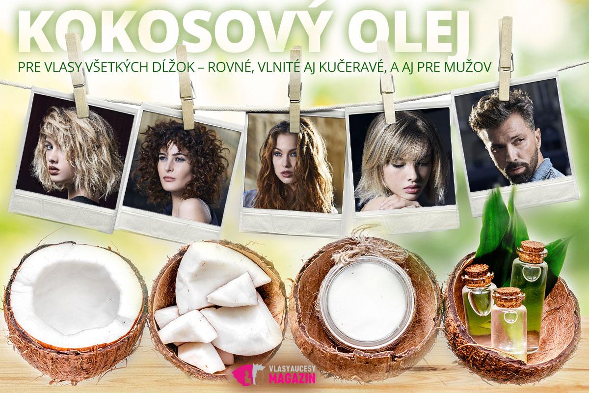 Kokosový olej sa hodí pre vlasy všetkých dĺžok, pre vlasy rovné, vlnité aj kučeravé, a tiež pre mužov. Páni môžu dokonca kokosovým olejom ošetrovať svoje fúzy alebo fúziky. Nádherné účesy sú z kolekcie Jean Louis David - INSIDE Collection for Summer 2018 (vlasy: Vanessa Giani, Jean-Jacques Ayache, Martyn Foss-Calder pre Jean Louis David, fotograf kolekcie: Laurent Darmon, make-up: Delphine Ehrhart.)