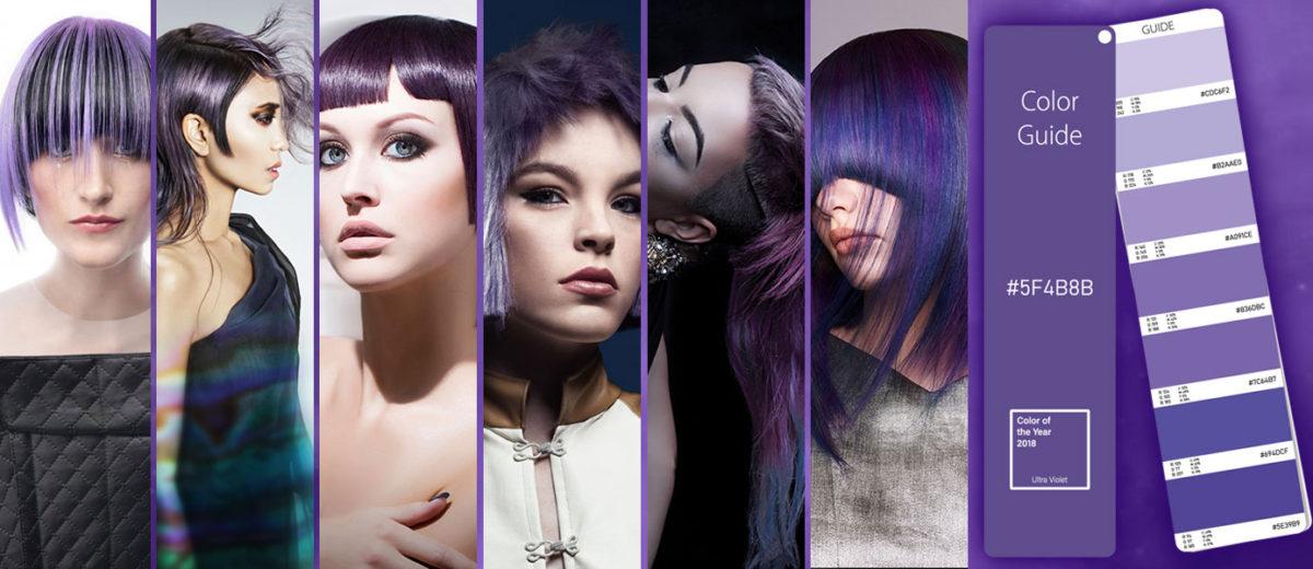 Farba roka 2018 je Ultra Violet PANTONE 18-3838.