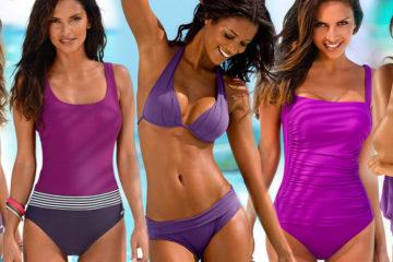 """Plavky 2018 si """"oblečú"""" fialovú. Farba roku, Ultra Violet, bude dominovať aj plavkovej sezóne."""