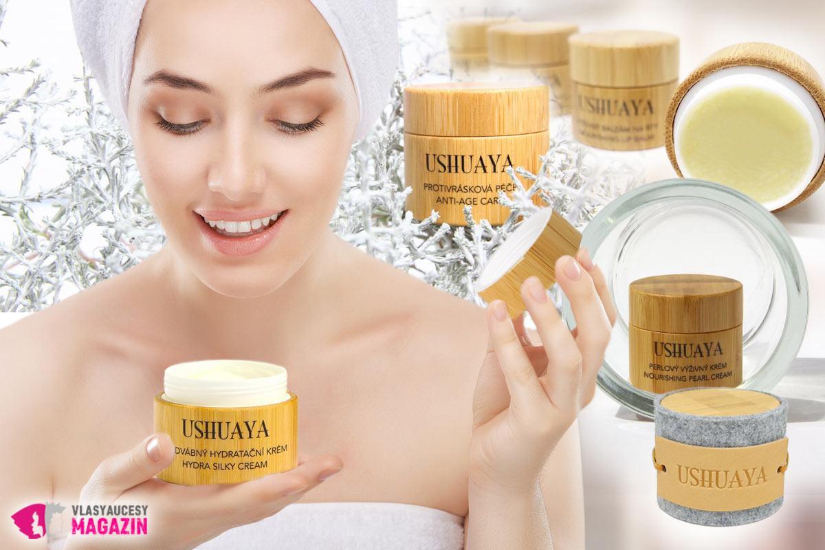 Kvalitné pleťové krémy s kyselinou hyaluronovou sú základom starostlivosti o namáhanú a starnúcu pleť. (TIP: Vyskúšajte prírodnú kozmetiku Ushuaya.)