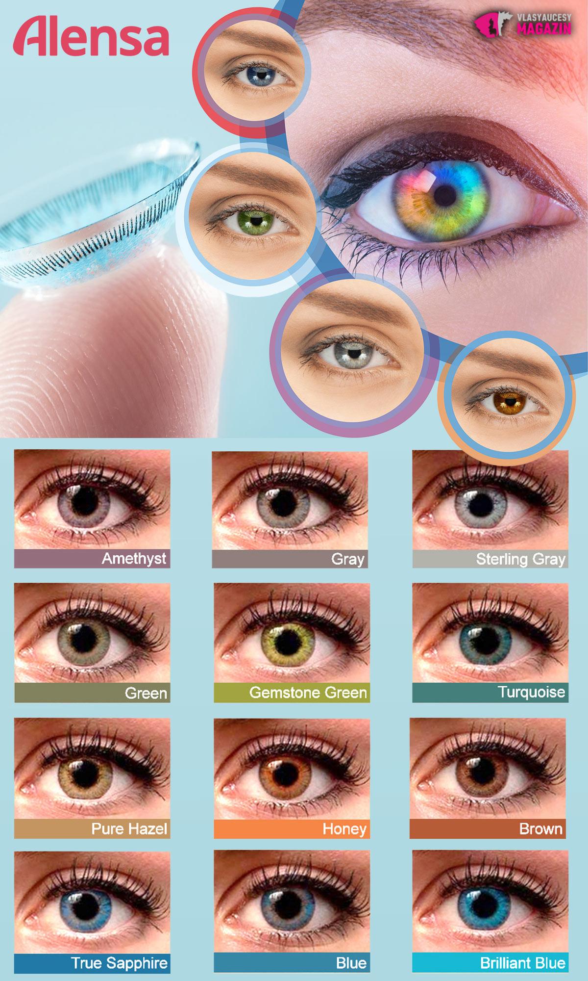 2f0c7e7cd Jednodenné kontaktné šošovky sú hitom – nosiť ich môžete aj farebné ...