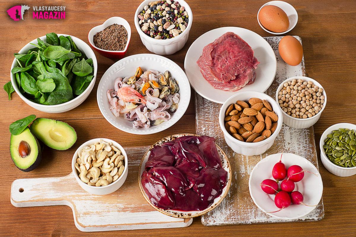Potraviny bohaté na zinok pomáhajú úplne prirodzenou cestou proti vypadávaniu vlasov.