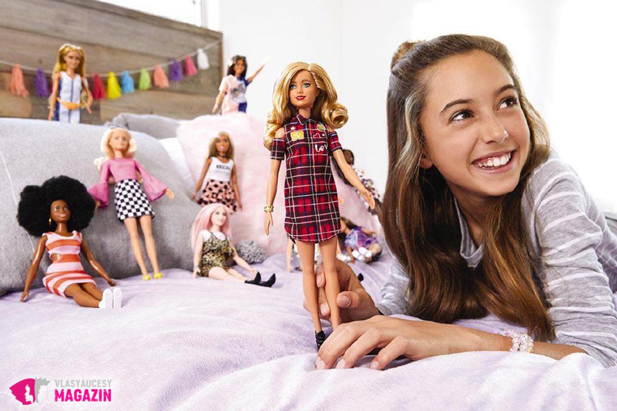 Barbie je tradične najobľúbenejšou bábikou.