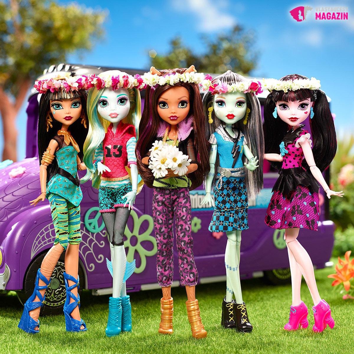 Monster High od Mattela patria medzi módne aktuálne bábiky.