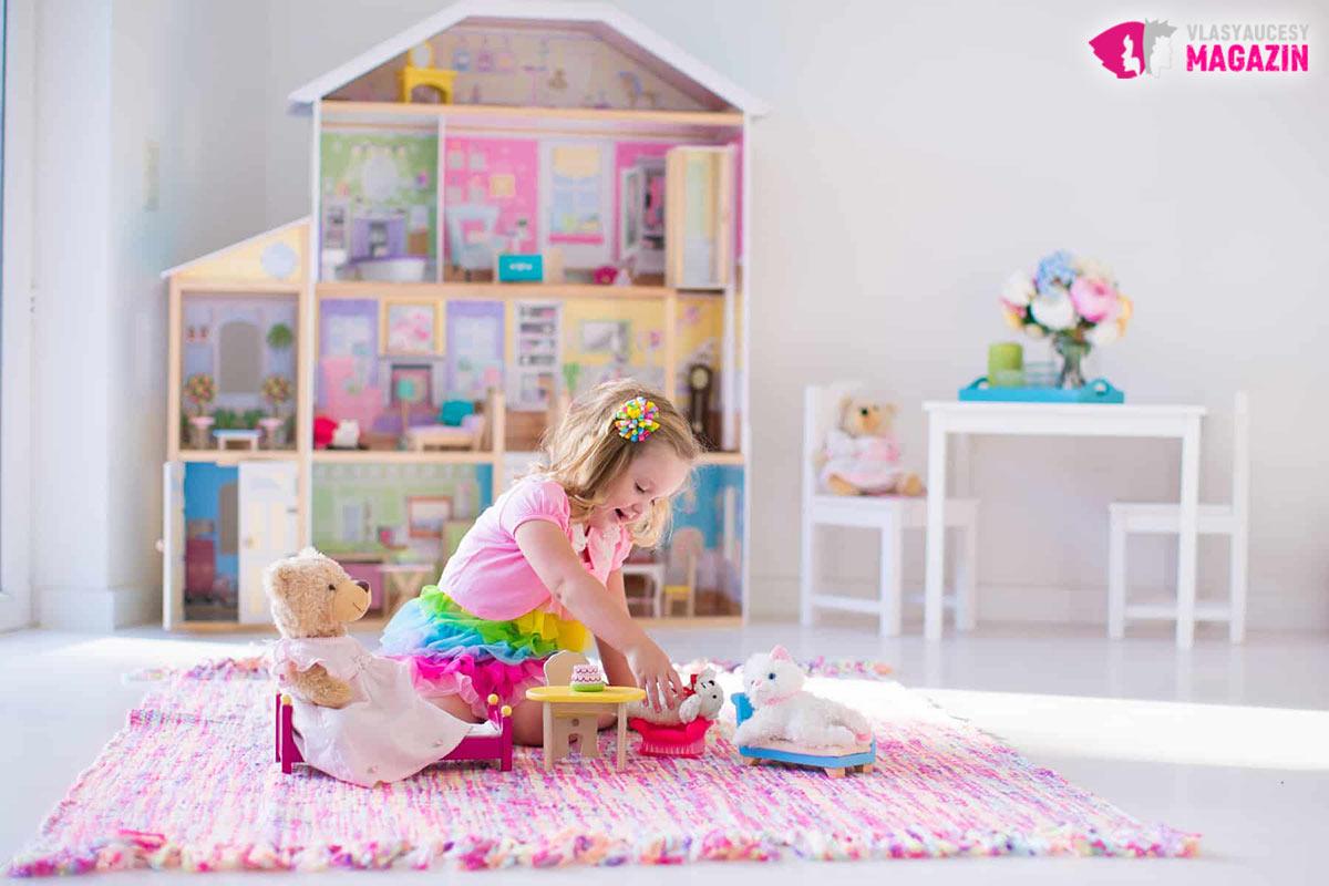 Ktoré dieťa by nechcelo mať domček pre bábiky?