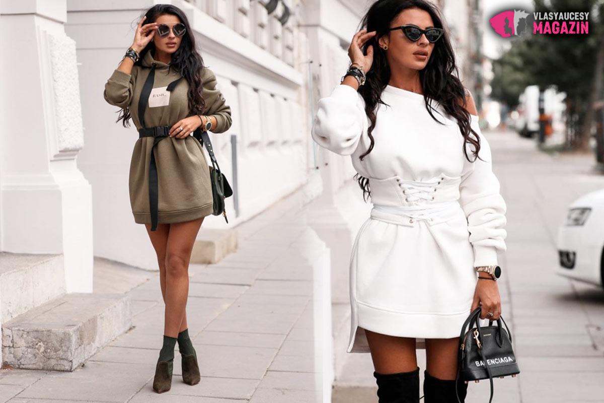 Mikina, sveter, či šaty? To neriešte. Hlavne, že vám pristanú.(Fashionmafia.sk).
