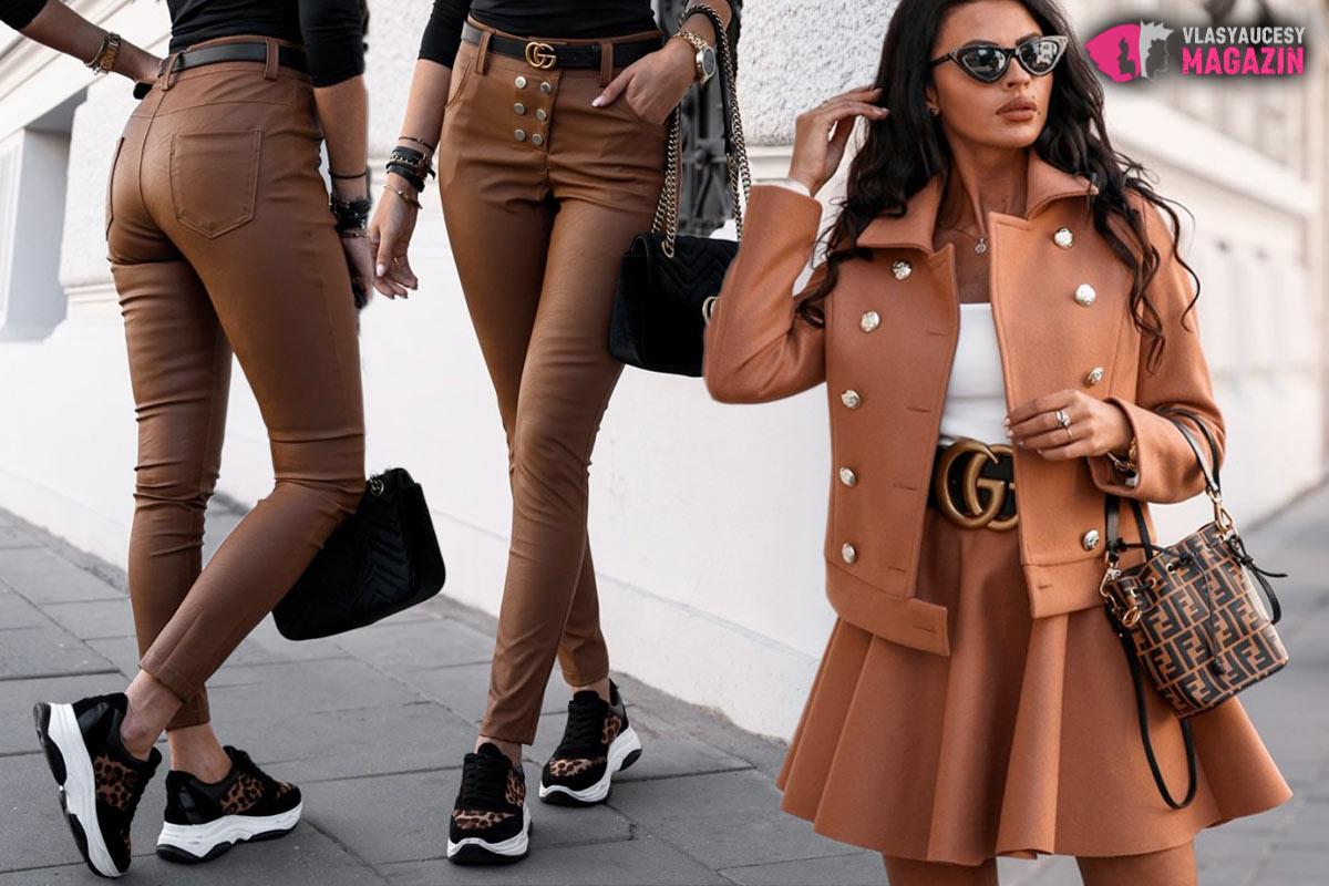 Hnedé odtiene, aj imitácia hnedej kože – to je aktuálna móda pre jeseň/zimu 2019/2020.