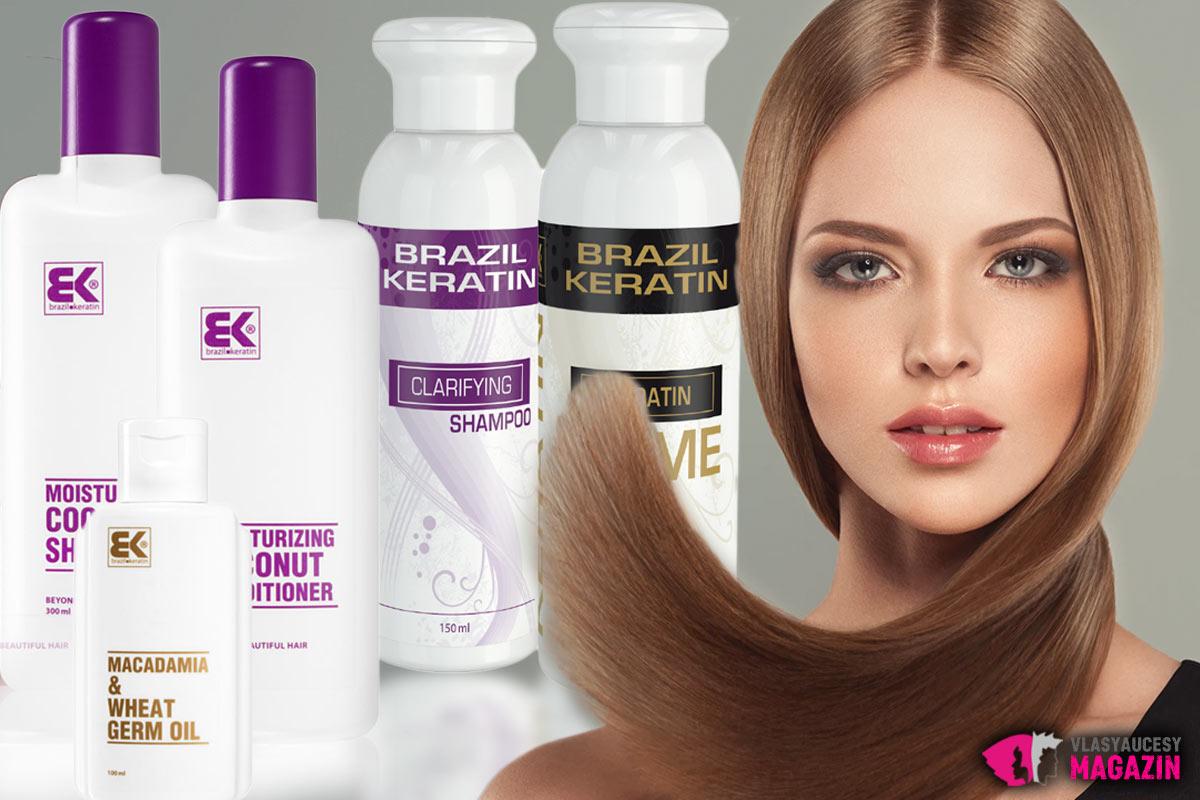 Ku krásnym rovným vlasom nám dopomôže kvalitná kozmetika s brazílskym keratínom.