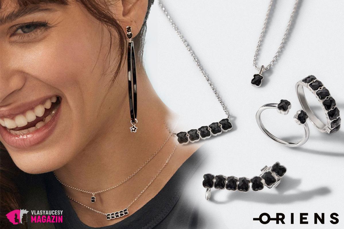 Jarné šperky 2020 milujú luxus, ktorý im dáva čierna.