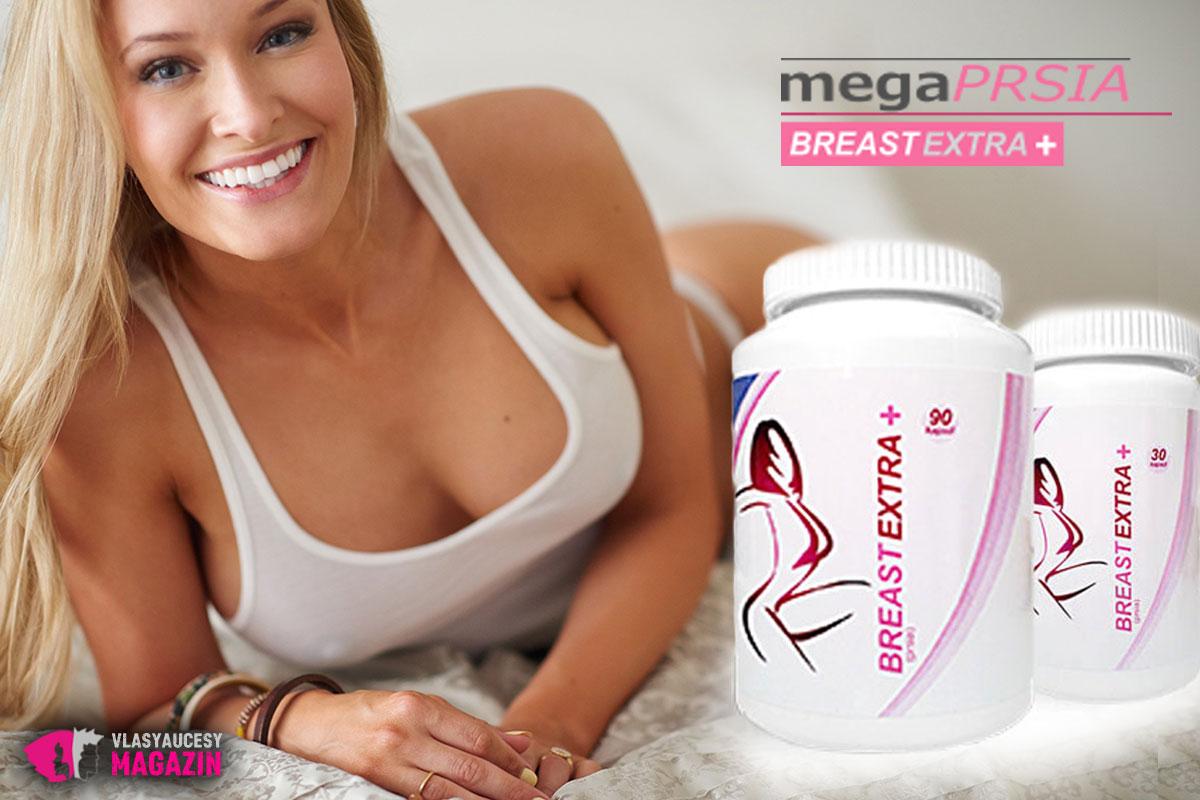 BreastEXTRA+ pomáhajú ženám ku krajšiemu dekoltu.